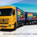 LKW Fahrschule Ausbildungsfahrzeug MB ACTROS 1832 mit Anhänger