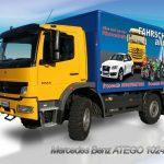 LKW Fahrschule Ausbildungsfahrzeug MB ATEGO 1024 4x4